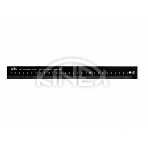 Алуминиева линийка намагнетизирана KINEX 1000 мм, BLACK COAT