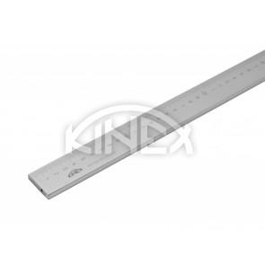 Линийка от неръждаема стомана KINEX 1000 мм, с вертикална скала