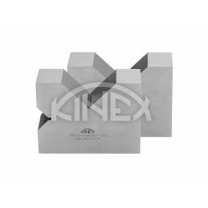 V-блок два канала (двойка) KINEX- закалени, 2x90°, 100 mm, CSN 25 5532