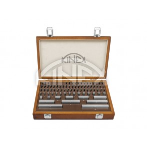 Плоскопаралелни краищни мерки Kinex 103 части, DIN 861/0