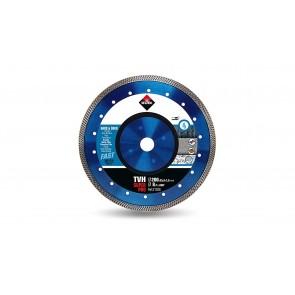 Диамантен диск за мокро рязане на гранитогрес,порцелан и твърди материали Rubi TVH / ф200x25.4мм