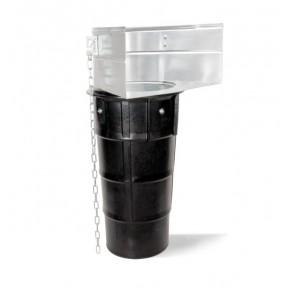 Гумен улей направляващ с метална рамка за насипен материал Rubi / 1.1м, 1000кг