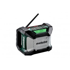 Акумулаторно радио Metabo R 12-18 BT / 18V, 2-8Ah, без батерии и зарядно устройство