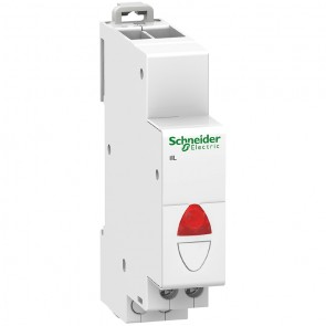 Индикатор светодиоден за DIN шина Schneider Electric iIL / 230V, червена
