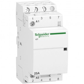 Контактор автоматичен Schneider Electric iCT / 25А, 220V, 3NO, 50Hz