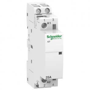 Контактор автоматичен Schneider Electric iCT / 25А, 220V, 2NO, 50Hz