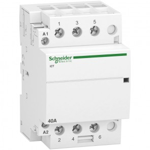 Контактор автоматичен Schneider Electric iCT / 40А, 220V, 3NO