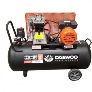 Бутален ремъчен компресор Daewoo DAAC 100C / 2200W, 100л, 8бара