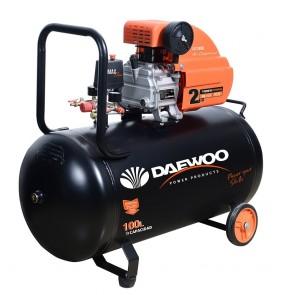 Бутален компресор Daewoo DAAC 100D / 1500W, 100л, 8бара
