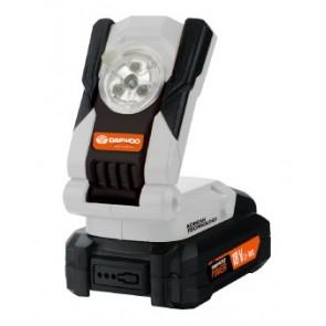 Акумулаторна лампа Daewoo DALL18-1 UNI-BAT / 20V, без батерии и зарядно устройство