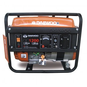 Бензинов безчетков монофазен генератор Daewoo GD 1200 / 1000W