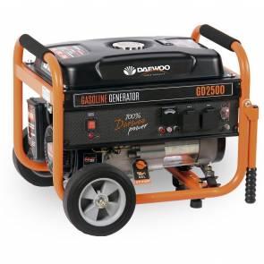 Бензинов монофазен генератор Daewoo GD2500 / 2200W