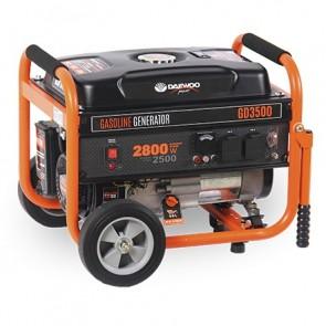 Бензинов монофазен генератор Daewoo GD3500 / 2700W