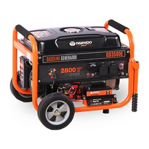 Бензинов монофазен генератор Daewoo GD3500E / 2700W