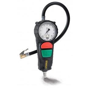 Уред за проверка на гуми с манометър Stanley