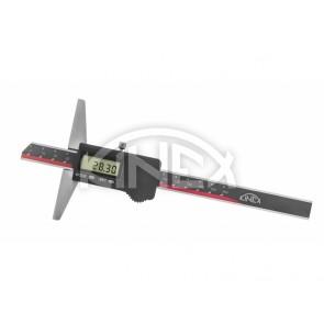 Дигитален дълбокомер KINEX 150 mm, 0,01 mm, DIN 862, IP 67