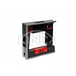 Квадратен високо прецизен нивелир Kinex 300x300x44 мм, 0,02 мм, CSN 25 5739-1
