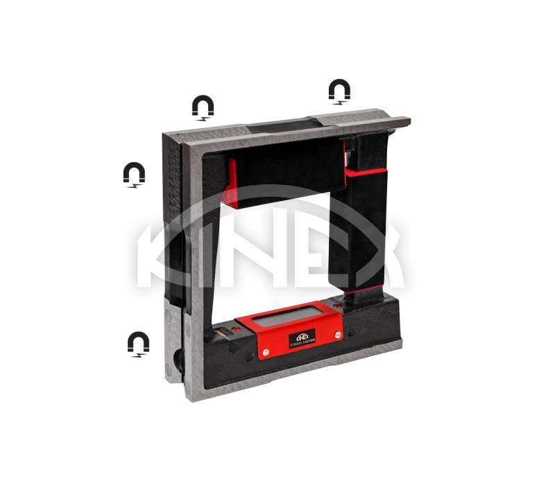 kvadraten-visoko-precizen-nivelir-s-magnit-kinex-150-150-44-5091-02-150
