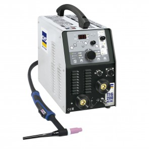 Заваръчен апарат GYS Gysmi TIG 200 AC/DC с аксесоари  SR 26DB