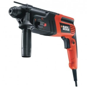 Перфоратор Black&Decker KD855KA / 550W, 960об/мин, 5100уд/мин, 1.6J, SDS-Plus