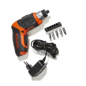 Акумулаторна отвертка Black&Decker CS3653LC / 3.6V, 0-190об/мин