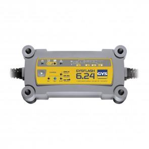Зарядно за акумулатор GYS Gysflash 6.24 / 12-24V, 190W, 1.2-170Ah