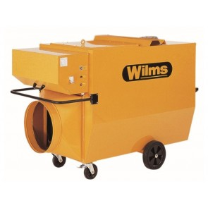Нафтов калорифер Wilms BV 535 / 150000W, 11000м3/ч