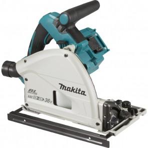 Акумулаторен ръчен циркуляр Makita DSP601ZJU / 36V, 5Ah, ф165мм, 2500-6300об/мин, без батерии и зарядно устройство