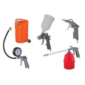 Комплект пневматични инструменти Raider RD-AT02 / 5бр