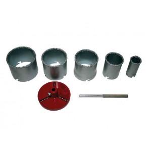 Комплект боркорони за керамични плочки Raider / ф33-83мм, 7бр