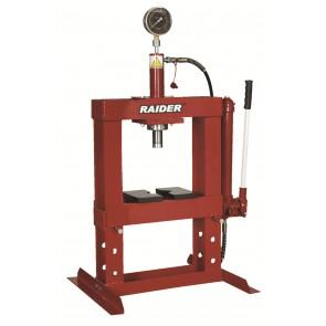 Хидравлична преса с манометър Raider RD-HP02 / до 10т
