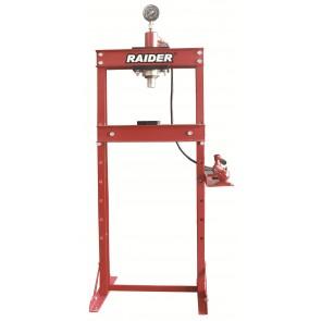 Хидравлична преса с манометър Raider RD-HP04 / до 20т