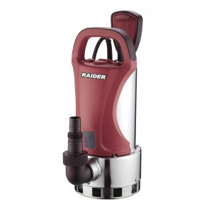 Потопяема водна помпа за мръсна вода Raider RD-WP39 / 1100W, 8м, 308л/мин