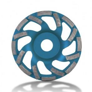 Диамантен диск за шлайфане на бетон Rubi / ф100x22.23мм, едноредов