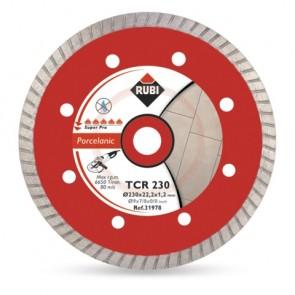 Диамантен диск за сухо рязане на гранитогрес и порцелан Rubi / ф115х22.23мм