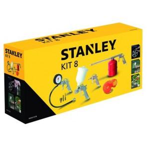 Комплект аксесоари за компресор Stanley 8 части