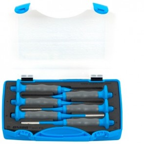 Комплект цилиндрични пробои в пластмасова кутия – 641/6HSPB -  2, 3, 4, 5, 6, 8