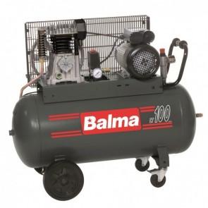 Бутален компресор Balma NS 11S/100 - 1.5 kW, 100 l, 10 bar, 254 l/min