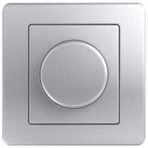 LED Димер TEM Ekonomik 0-100W- Сребро