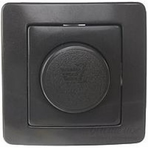 LED Димер TEM Ekonomik 0-100W- Черно