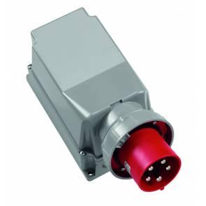 Щепсел за стена ABL CEE 125A 400V 4P IP67