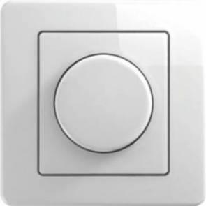 LED Димер TEM Ekonomik 0-100W- Бяло