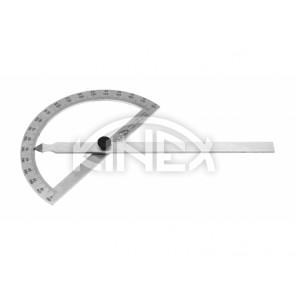 Ъгломер Kinex 0-180°, 120x200 mm - Неръждаема стомана - Професионален