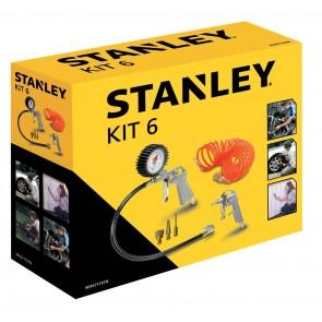 Комплект аксесоари за компресор Stanley 6 части