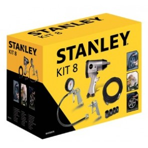 Комплект аксесоари за компресор Stanley 8 части 9045769
