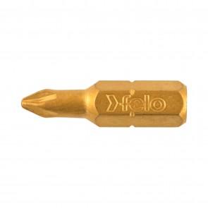 Бит FELO TiN Plus 021 PZ1 25mm C 6.3