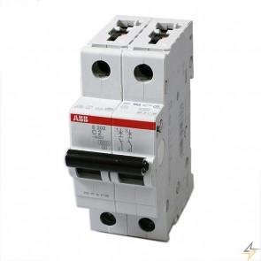 Автоматичен прекъсвач ABB S202-C2 / 2A, 6kA