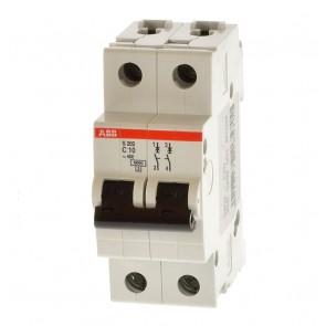 Автоматичен прекъсвач ABB S202-C10 / 10A, 6kA
