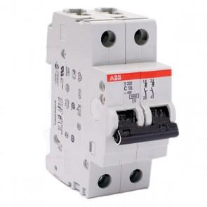 Автоматичен прекъсвач ABB S202-C16 / 16A, 6kA