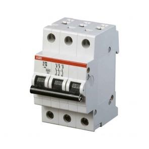 Автоматичен прекъсвач ABB S203-C10 / 10A, 6kA